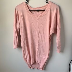Pink Over-sized shirt